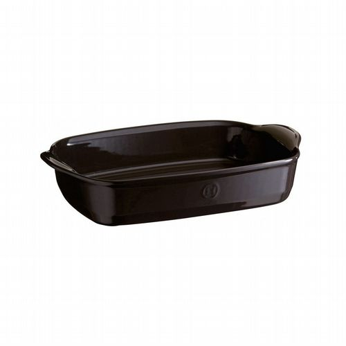 Emile Henry - Rectangular Oven Dish - Medium - Charcoal